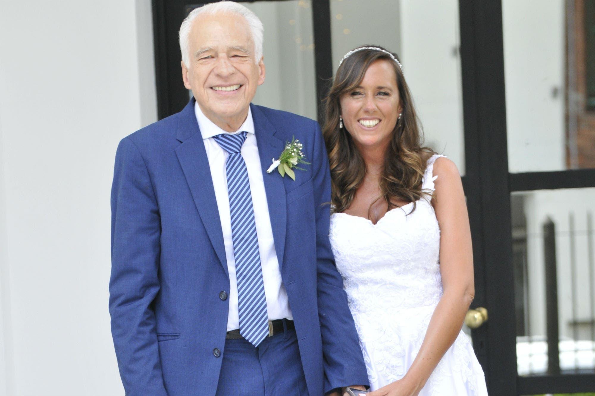 Alberto Cormillot se casó con la nutricionista Estefanía Pasquini