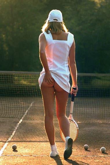 Tennis Girl, póster ícono en el mundo.
