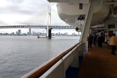 El día a día de la cuarentena a bordo del crucero Diamond Princess