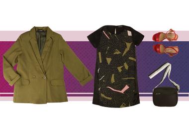 Liviano y elegante, el blazer es un abrigo ideal para estas noches más frescas