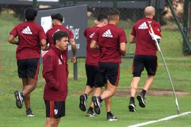 Marcelo Gallardo nunca descansa: siempre piensa en cómo mejorar al equipo de River.