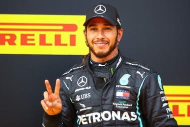 El británico Lewis Hamilton, seis veces campeón mundial de Fórmula 1.