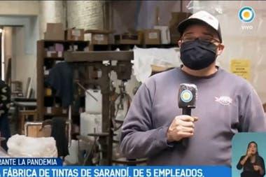 La fábrica de tintas Ópalo de Sarandí tenía cinco empleados y ahora tomó a otros dos