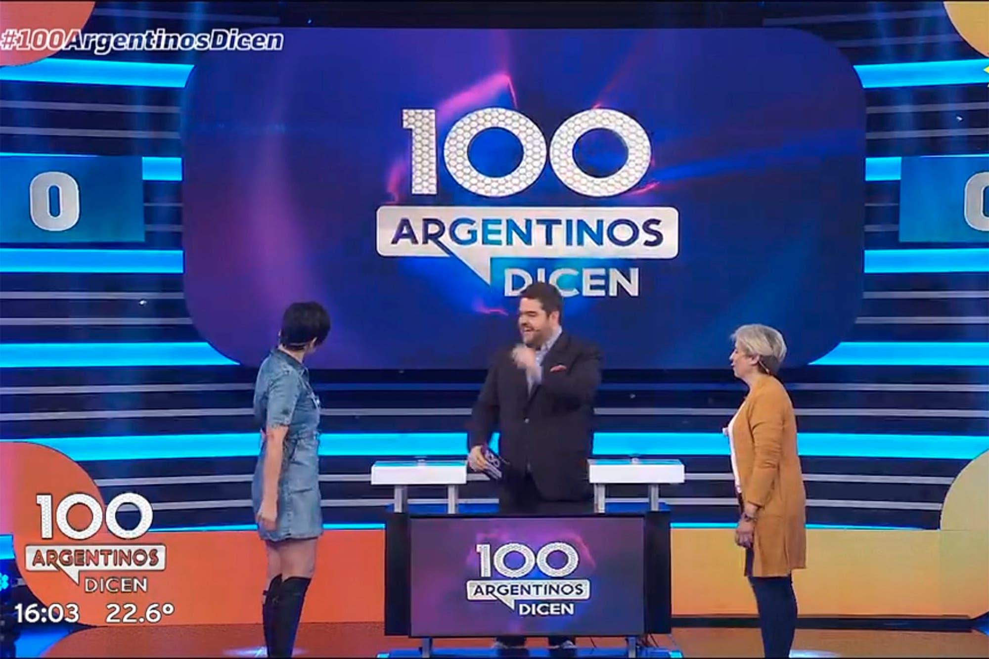 Así fue el debut de 100 argentinos dicen, otra de las nuevas apuestas de eltrece para sus tardes
