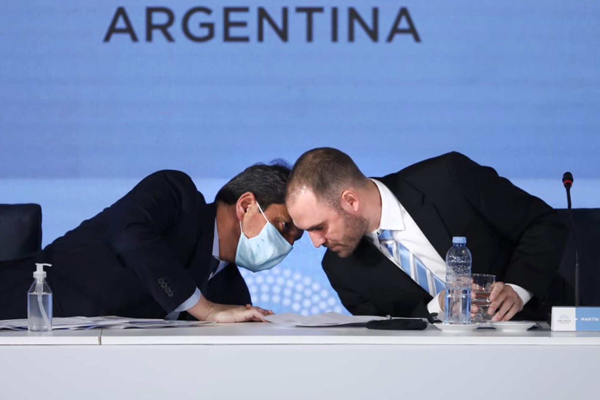 """El blooper de Martín Guzmán en la presentación del Presupuesto: """"Yo también puedo sarasear hasta que esté"""""""