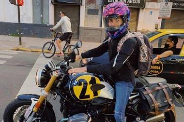 Juana dijo que le interesaban las motos de poca cilindrada de un lugar pequeño y que su padre la llevaba a andar en este tipo de vehículos.