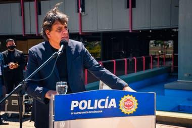 """El ministro de Seguridad de Córdoba, Alfonso Mosquera, pidió que """"en caso de acreditarse apremios ilegales los autores tengan las más severas y ejemplares condenas ante la cobarde y deleznable actitud""""."""