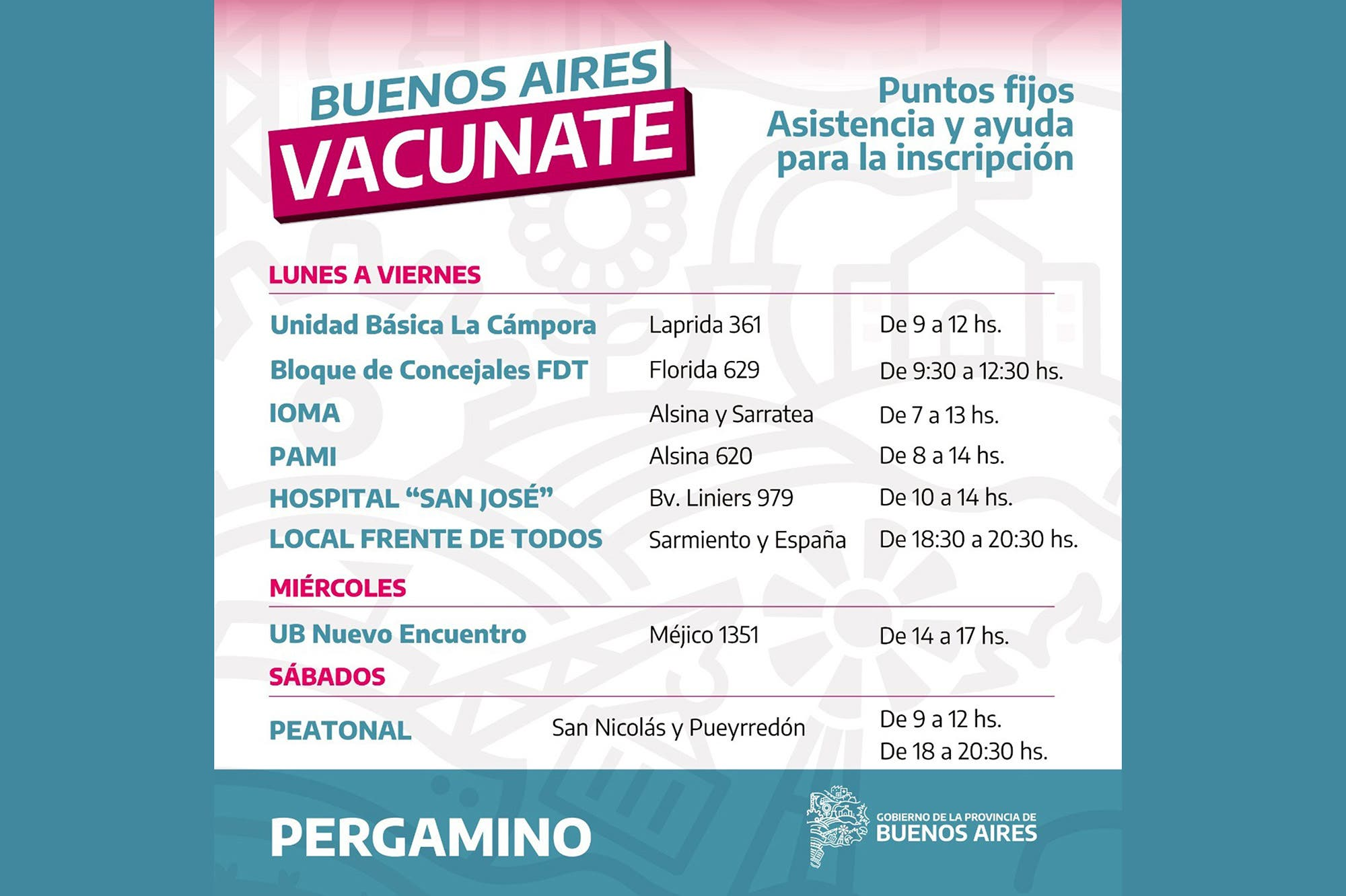 Vacunación: duras críticas por el uso de unidades básicas de La Cámpora y el PJ en el operativo de inscripción