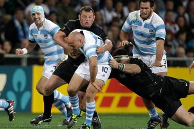 En el Mundial 2011 los Pumas perdieron ante Inglaterra por 13-9, en el Otago Stadium de Dunedin