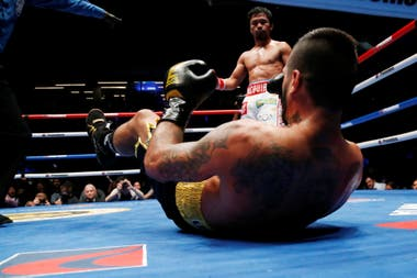 Lucas Matthysse-Manny Pacquiao: categórica derrota del argentino por KO