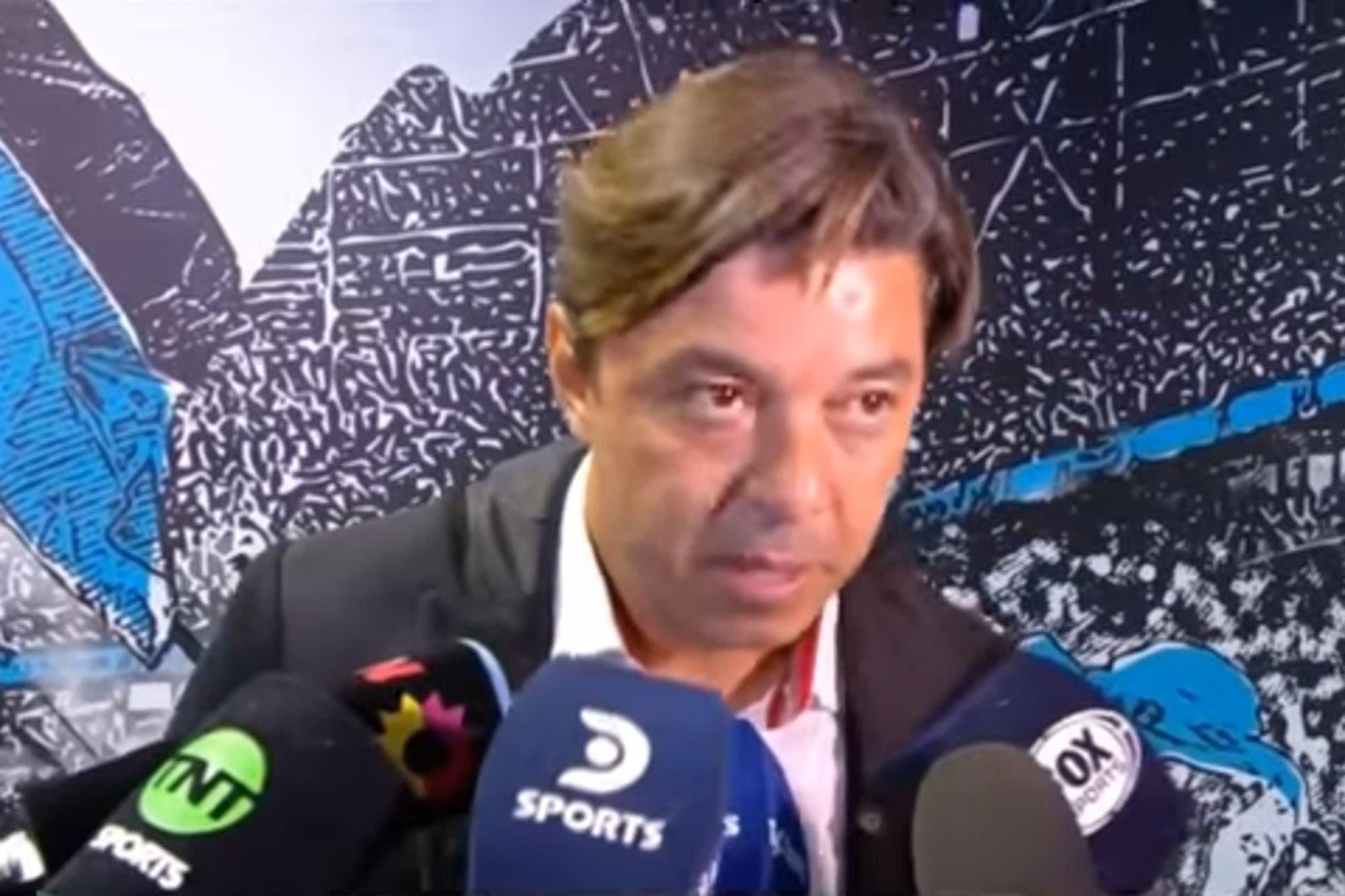 La picante respuesta de Marcelo Gallardo tras no respetar el reglamento y hablar con los jugadores