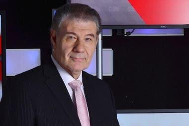 Victor Hugo Morales, en C5N con El diario