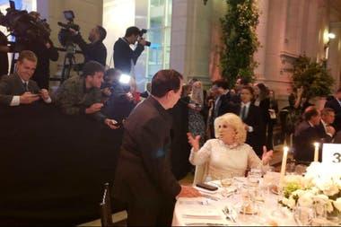 Mirtha Legrand, presente en la gala en el CCK