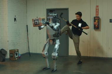 El falso robot de Boston Dynamics