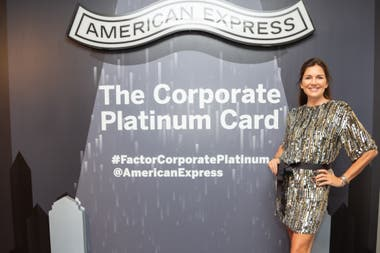 Andrea Frigerio presente en lanzamiento de The Corporate Platinum Card de American Express