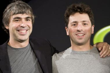 Larry Page y Sergei Brin, confundadores de Google