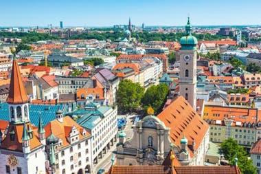 Múnich, Alemania, es la ciudad con mayor riesgo de tener una burbuja inmobiliaria