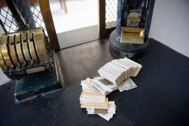 Máquinas expendedoras de boletos