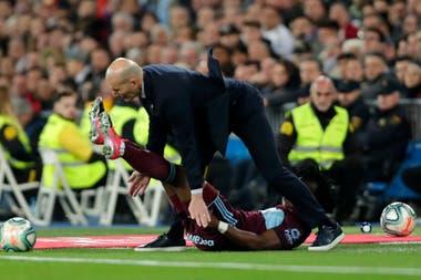 El momento de la patada a Zinedine Zidane