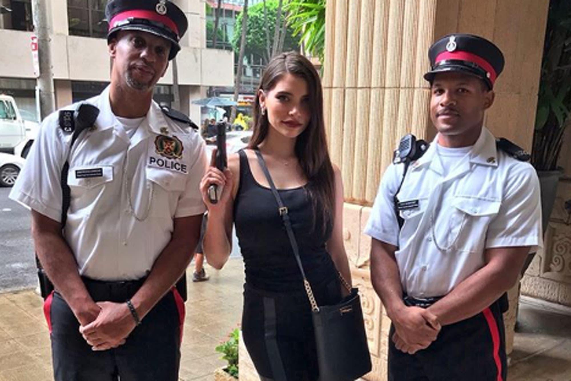 Actrices Porno Vestidas De Policia eva de dominici y su debut en hollywood: participó de la