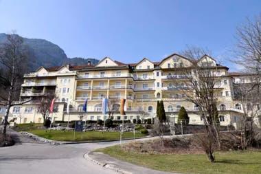 Otra vista del Grand Hotel, enclavado en las montañas bávaras