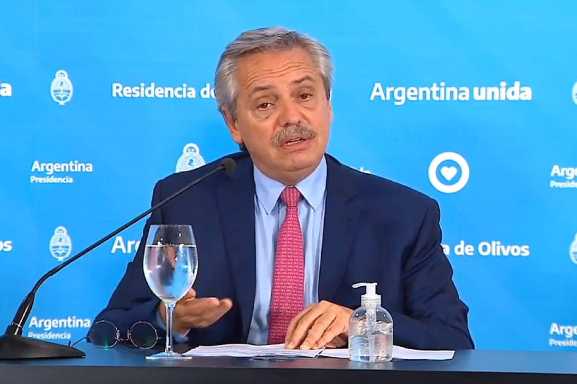 Coronavirus en Argentina: Alberto Fernández hará un anuncio sobre la cuarentena