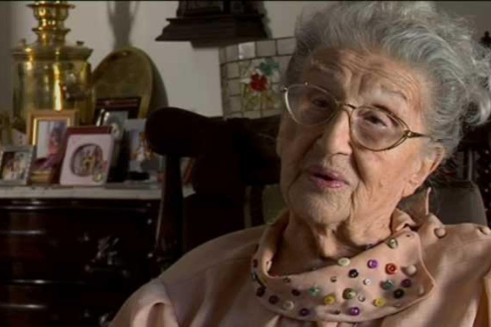 A los 103 años murió la actriz Bendita Berlín