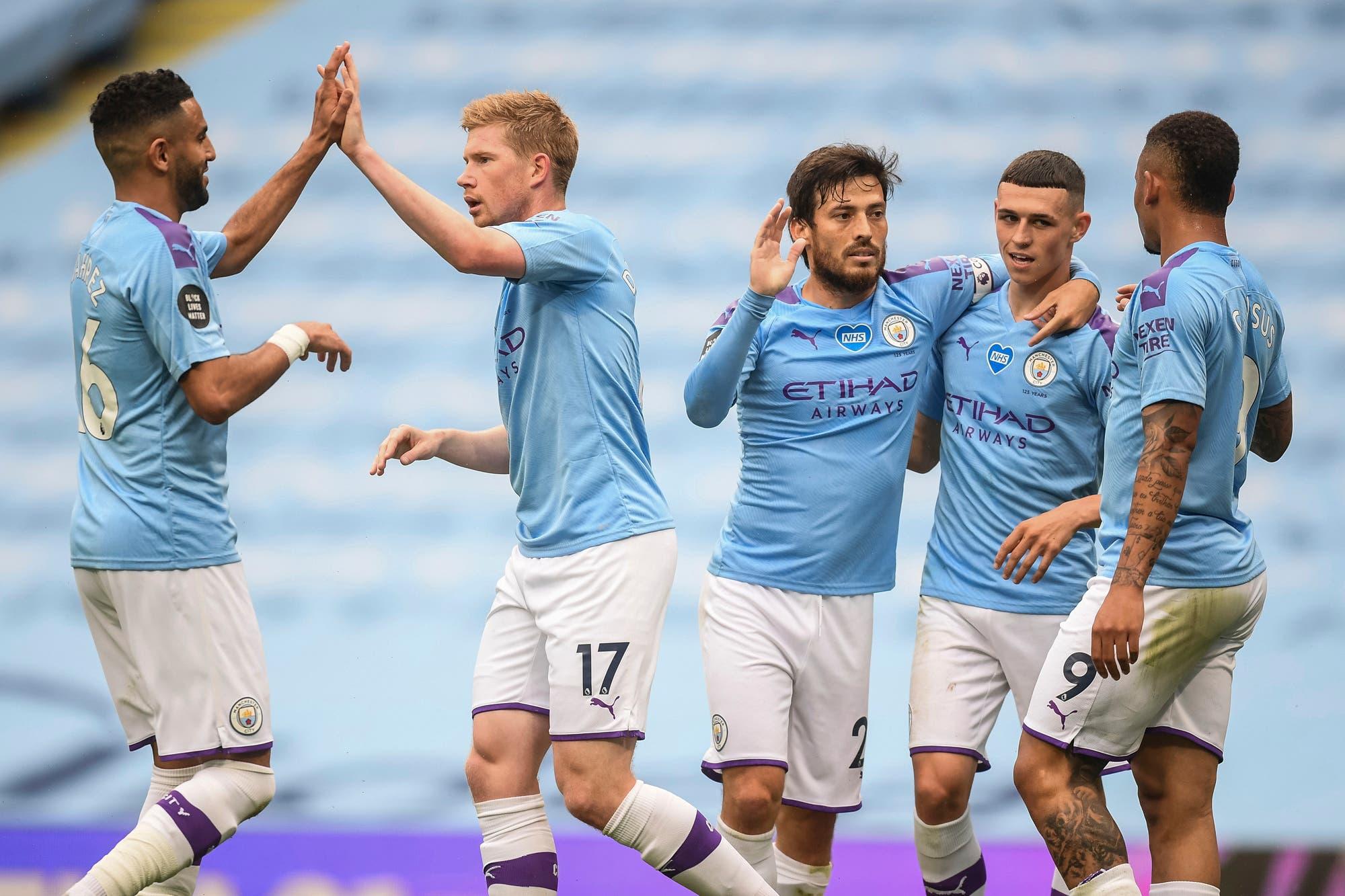 Manchester City goleó a Newcastle 5-0 por la Premier League: tres ...