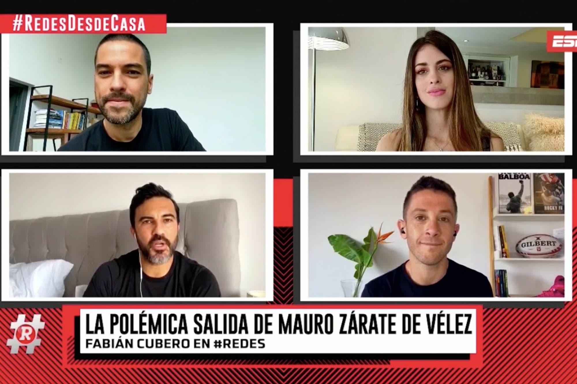 """No hay chance"": Fabián Cubero habló sobre Mauro Zárate y Vélez"