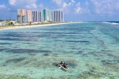 La construcción de Hulhumalé ha implicado una amenaza a los arrecifes de coral
