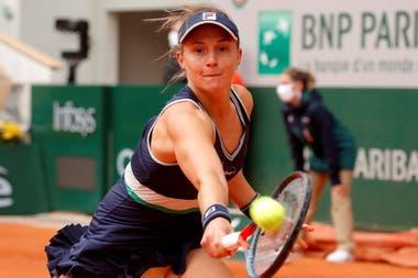 Podoroska, en las semifinales de París ante Swiatek