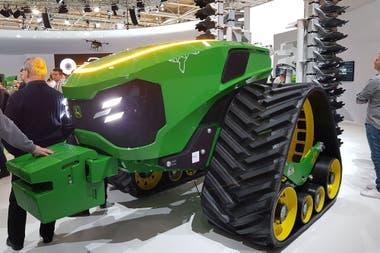 En Agritechnica, muestra de maquinaria agrìcolal en Alemania, se presentó un tractor autónomo