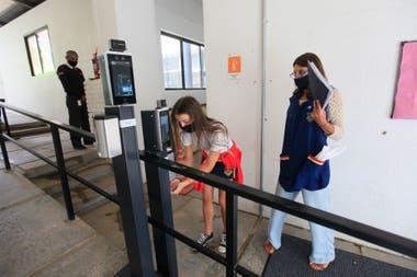 El colegio privado Michael Ham, en Vicente López, también reabrió sus puertas luego de casi ocho meses
