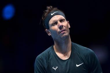 Masters de Londres: Rafael Nadal en la derrota ante Dominic Thiem