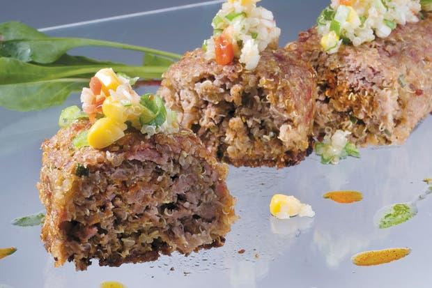 Receta de Terrina de carne y quinoa