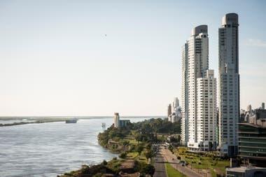 Nuevos edificios en la zona emergente de Puerto Norte.