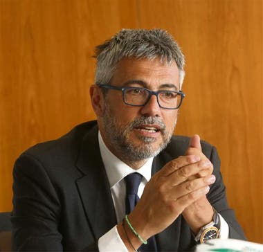 Flavio Lanzerini, directivo de Alitalia