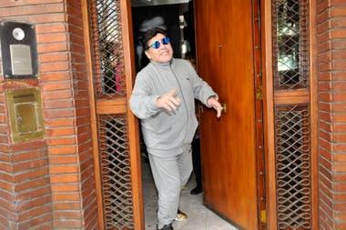 Maradona dirigió al conjunto nacional entre octubre de 2008 y julio de 2010