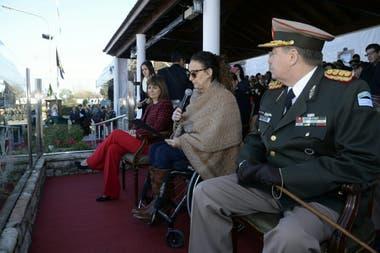 La vicepresidenta Gabriela Michetti encabezó el acto por el 80 aniversario de la Gendarmería Nacional