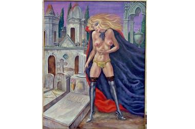 Promesa de castidad, Antonio Berni, 1976