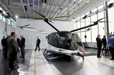 El vehículo aéreo eléctrico cuenta con una capacidad de cinco butacas y una autonomía de hasta 600 kilómetros