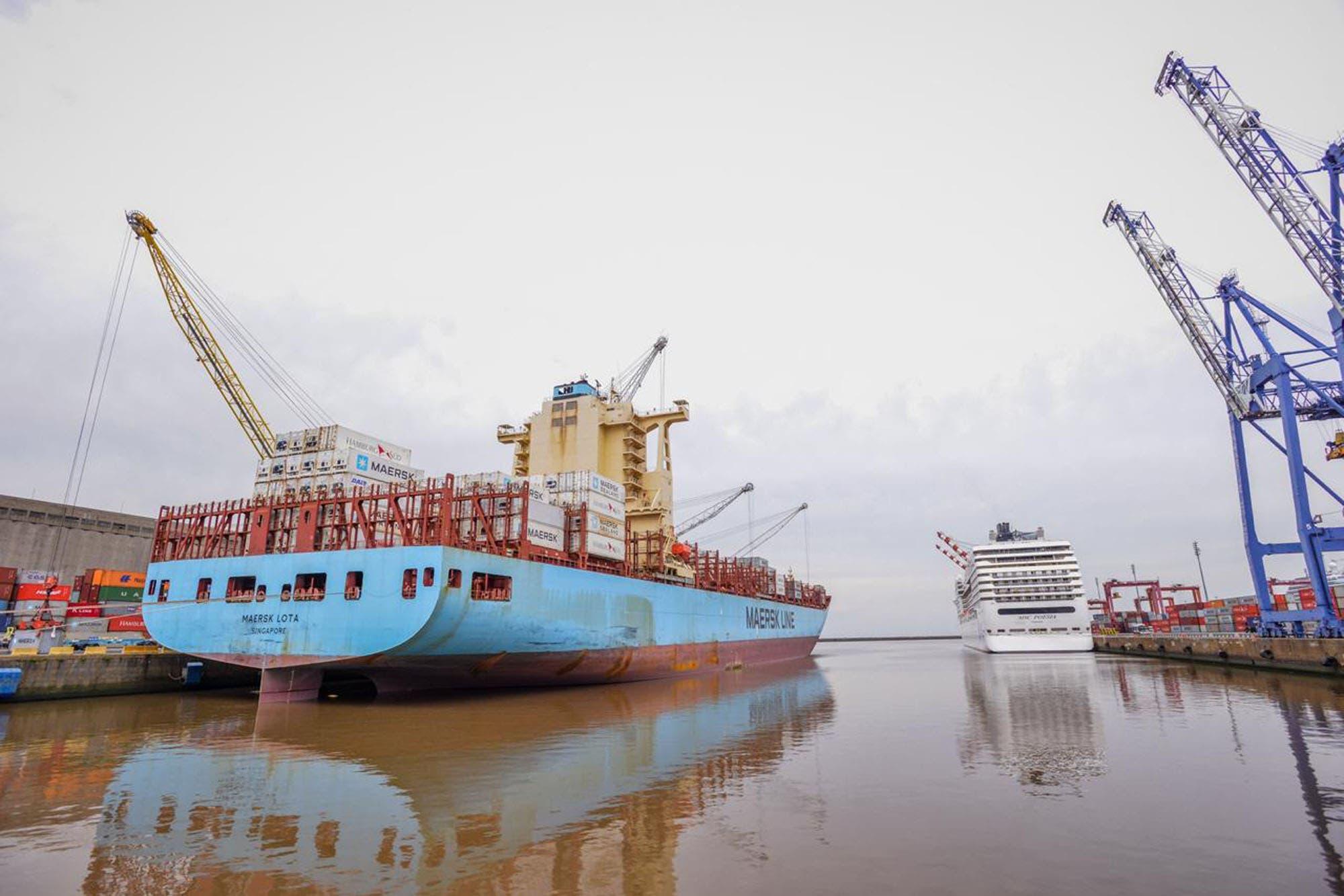 Por un conflicto con el SOMU hay paro en los puertos desde ayer