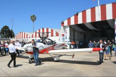 Un avión fabricado íntegrante en Santa Fe denominado Waman será el primero en su estilo con producción enteramente nacional