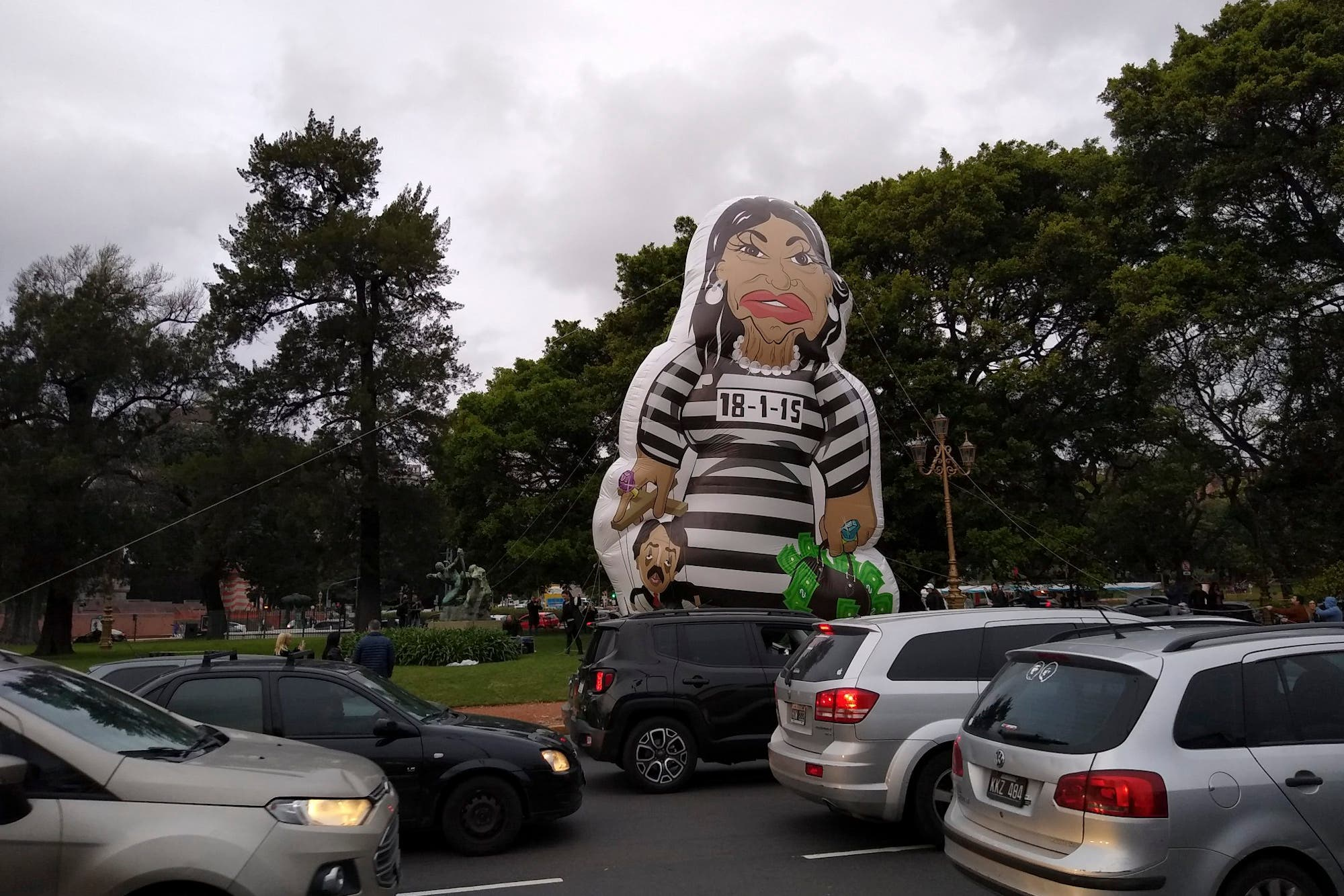 El globo de Cristina presa y otras perlitas del debate presidencial