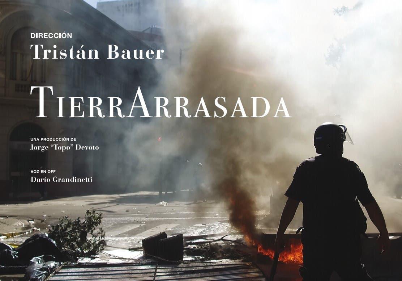 """Tristán Bauer estrena """"Tierra arrasada"""", una película sobre el gobierno de Mauricio Macri"""