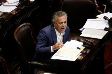 El radical Alfredo Cornejo advirtió que este martes la oposición participará de manera presencial en la sesión virtual convocada por el oficialismo