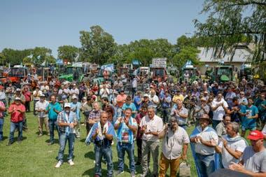 La asamblea hace 10 días en Pergamino. Hoy se hará otra en la Rural local