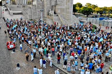 El acto por el aniversario de la muerte de Nisman en Rosario
