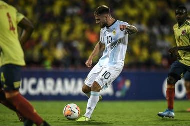 Alexis Mac Allister fue figura de la selección argentina campeona del Preolímpico