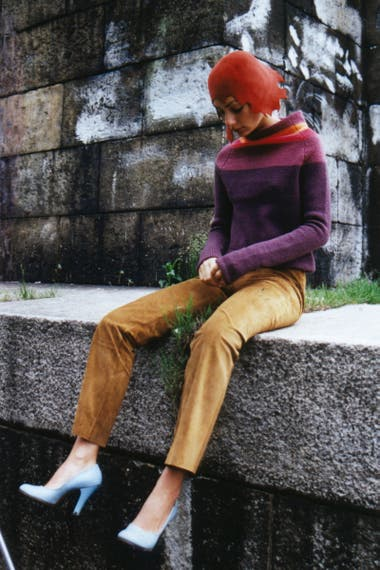 Gabriel Grippo. Diseñaba con objetos encontrados y los resignificaba como productos de moda